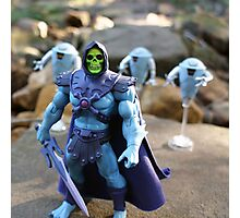 Masters of the Universe Classics - Skeletor & Hoverbots Photographic Print