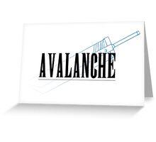A.V.A.L.A.N.C.H.E. Greeting Card