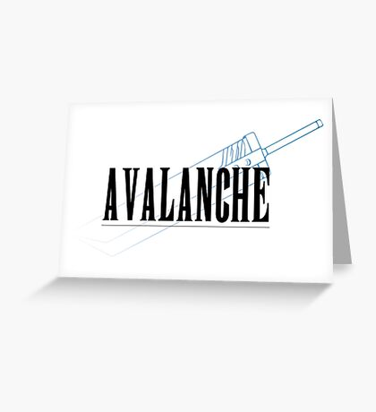 A.V.A.L.A.N.C.H.E. Greeting Card