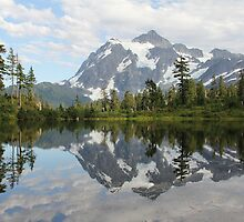 Picture Lake by Tracy Friesen