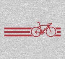 Bike Stripes Red by sher00