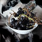 BLACK GRAPES  by scarlet james