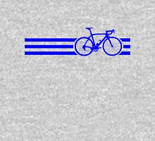 Bike Stripes Blue Unisex T-Shirt