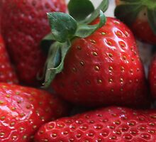 Strawberries detail by Dream-life