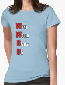 WWBD Womens Fitted T-Shirt