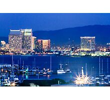 San Diego Harbor Photographic Print