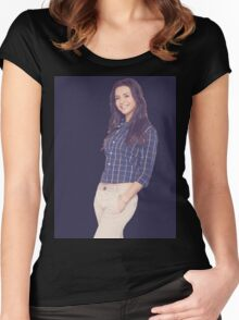 Caterina Scorsone Women's Fitted Scoop T-Shirt