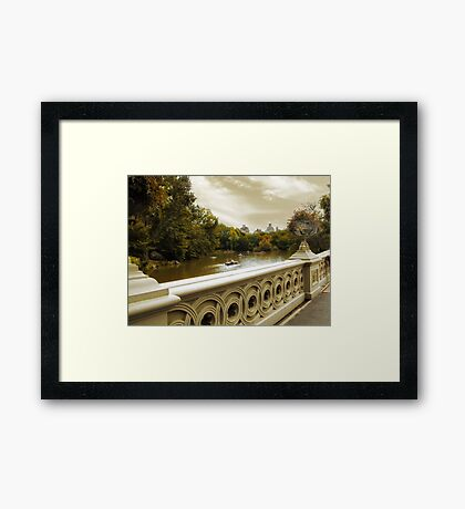 City Views Framed Print