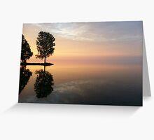 Indian Point Lake Winnebago, WI Greeting Card