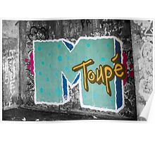 pbbyc - MToupe Graffiti Poster