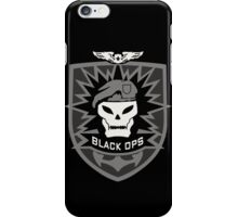 CALL OF DUTY BLACK OPS 2 - SKULL LOGO  iPhone Case/Skin