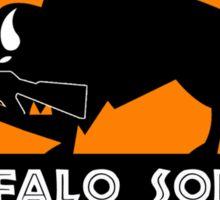 Buffalo Soldier Sticker