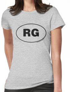 Ricketts Glen State Park RG Womens Fitted T-Shirt