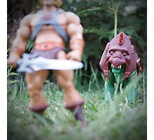 Masters of the Universe Classics - Battle Cat Photographic Print