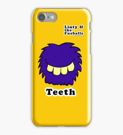 Linty & the Fuzzballs (Teeth) iPhone Case/Skin