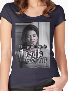 Meredith Grey Tequila Women's Fitted Scoop T-Shirt