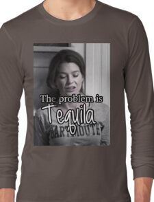 Meredith Grey Tequila Long Sleeve T-Shirt