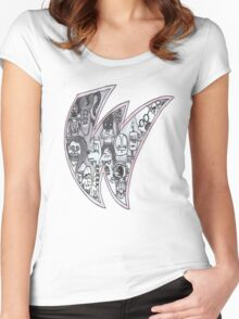 W for Willow Women's Fitted Scoop T-Shirt