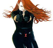 Black Widow #1 by Anthony Billings