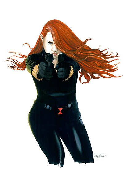 Black Widow #1 by Anthony Billings