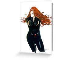 Black Widow #1 Greeting Card