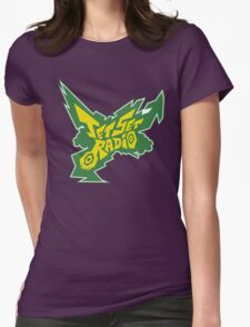 Jet Set Radio Womens Fitted T-Shirt