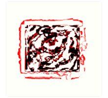 Eye Bat Blood Rite Art Print