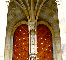 Arched entrance way, St Vitus Cathedral  by lightworks