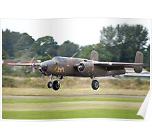 B-25 Mitchell on Take off Poster