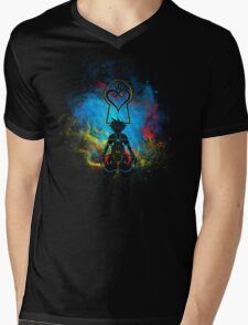 Kingdom Art Mens V-Neck T-Shirt