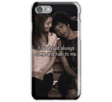 Meredith Grey Maggie Pierce iPhone Case/Skin