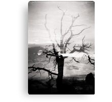 Arches National Park Holga Double Exposure Photo Canvas Print