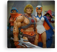 """Masters of the Universe Classics - """"Only three others share this secret..."""" Canvas Print"""