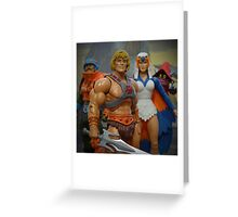 "Masters of the Universe Classics - ""Only three others share this secret..."" Greeting Card"
