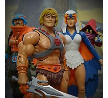 """Masters of the Universe Classics - """"Only three others share this secret..."""" Photographic Print"""