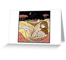 Carin and Colin (Catterline) Greeting Card