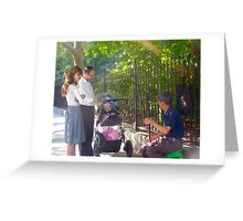 Generations United in Music Greeting Card
