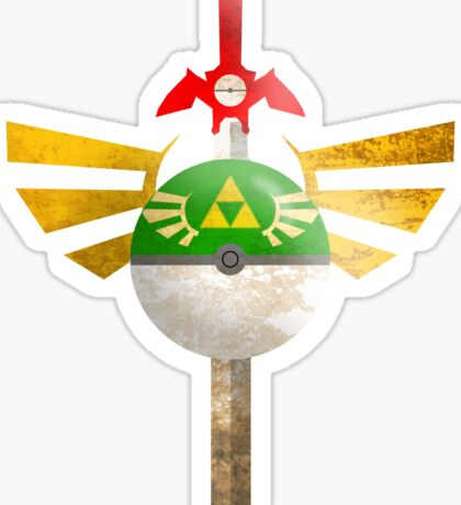Link, I Choose You Sticker