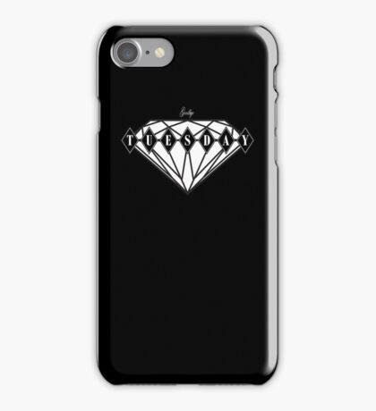 Ruby Tuesday Black iPhone Case/Skin