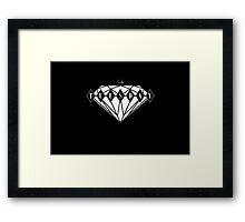 Ruby Tuesday Black Framed Print