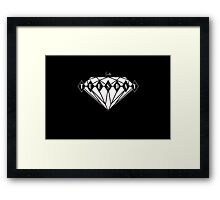 Ruby Tuesday Black Framed Print