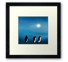 Pick-up-a-Penguin! Framed Print