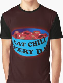 Absurdity-EAT CHILI EVERY DAY Graphic T-Shirt