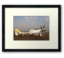 P-51 Mustang Fighter Plane Framed Print