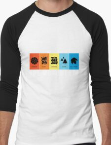 VeloVoices Monuments T-Shirt Men's Baseball ¾ T-Shirt