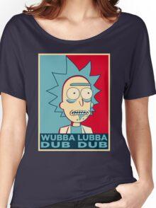RICK SANCHEZ WUBBA LUBBA DUB DUB Women's Relaxed Fit T-Shirt