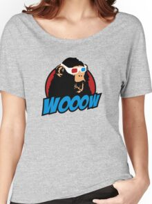 Wooow - 3D amazed Ape Women's Relaxed Fit T-Shirt