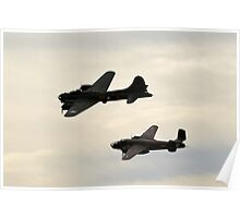 Sally B and Mitchell Poster