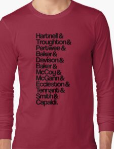 Twelve Doctors Long Sleeve T-Shirt