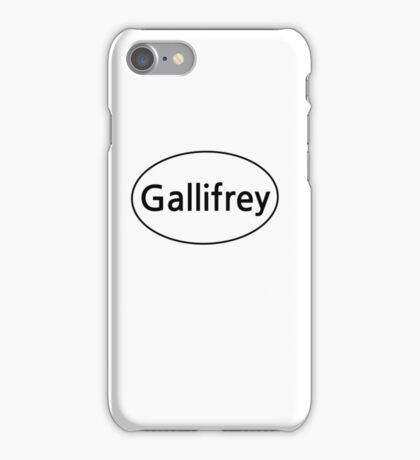 Gallifrey Euro  iPhone Case/Skin